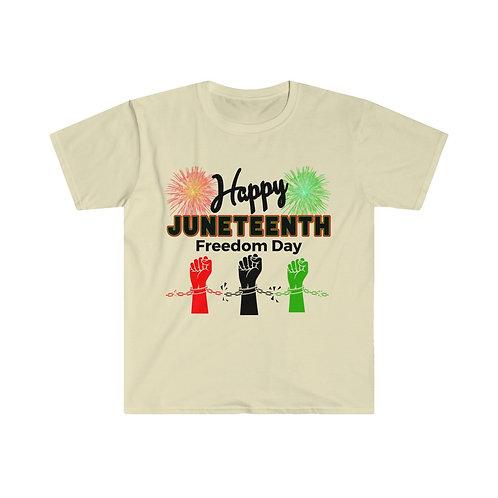 Royyale   Happy Juneteenth Unisex Softstyle T-Shirt