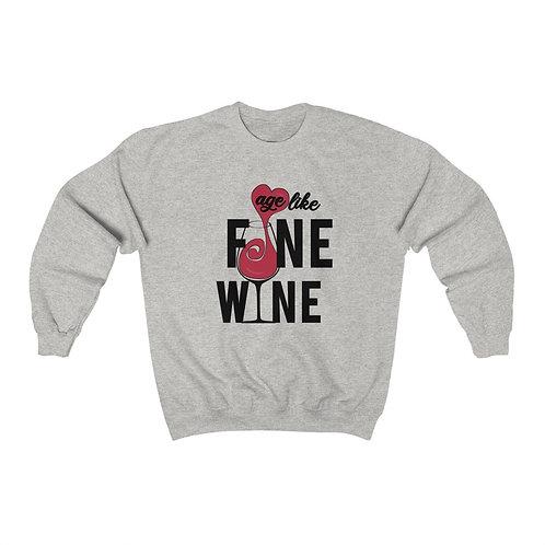 Royyale - Like Fine Wine Unisex Crewneck Sweatshirt