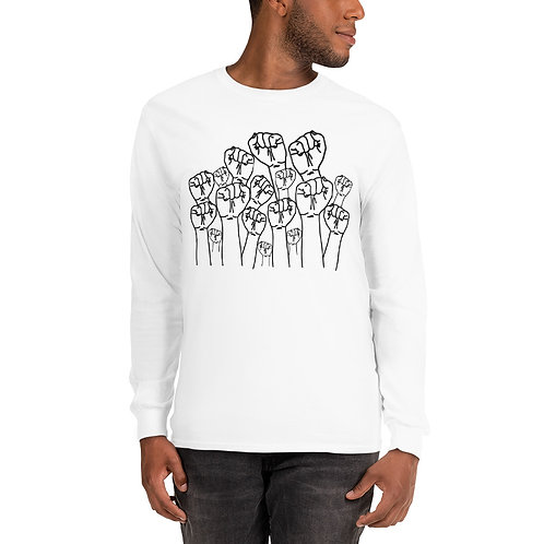 Royyale- Fists in the Air Unisex LS Shirt