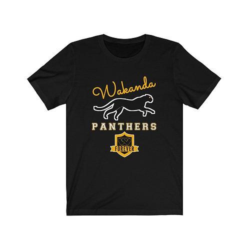 Royyale - Wakanda Panthers Forever Unisex Jersey SS Tee