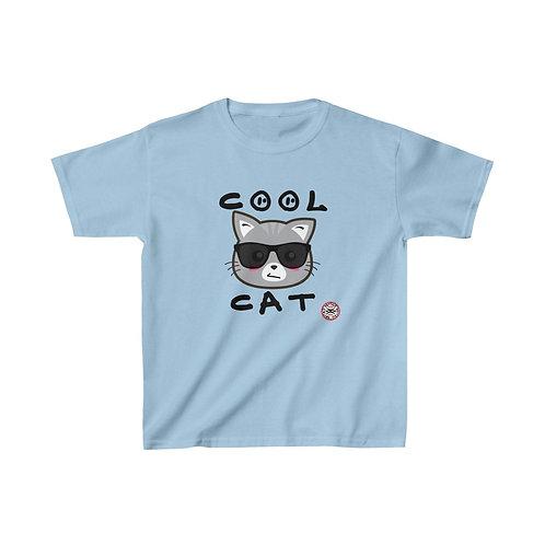 RG Kids   Cool Cat Kids Cotton Tee