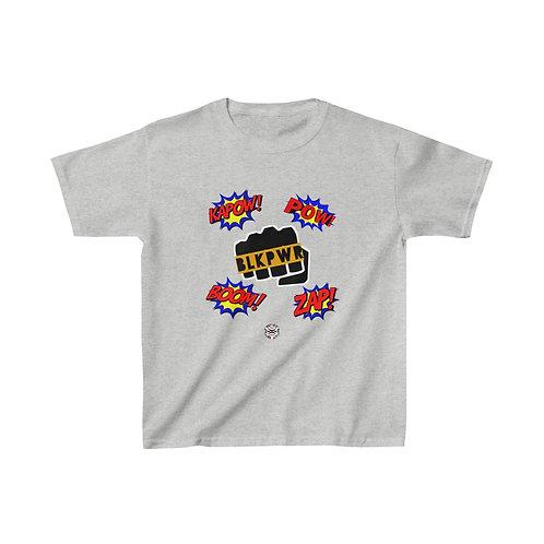 Royyale Kids - BLKPWR Kapow! Kids Cotton Tee