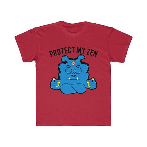 Royyale | Protect My Zen Kids Regular Fit Tee