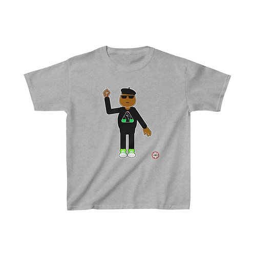 Royyale - Youth Blk Pwr Kids Cotton Tee