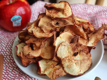 Air Fryer Apple Chips (2-ingredients!)