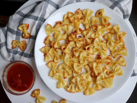 Air Fryer Pasta Chips (TikTok viral recipe!)