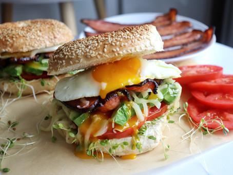 The ULTIMATE Bagel Sandwich