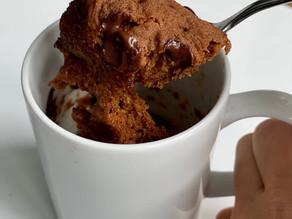 Pumpkin Chocolate Chip Mugcake