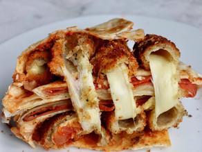 Mozzarella Pizza Wrap Hack