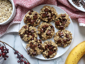 3-Ingredient Healthy Cookies