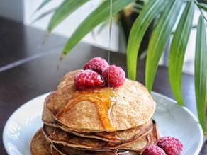 2-Ingredient Healthy Pancakes