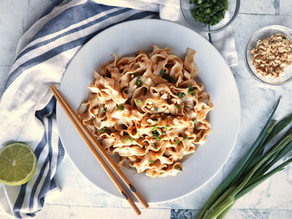 Easy Savory Peanut Noodles