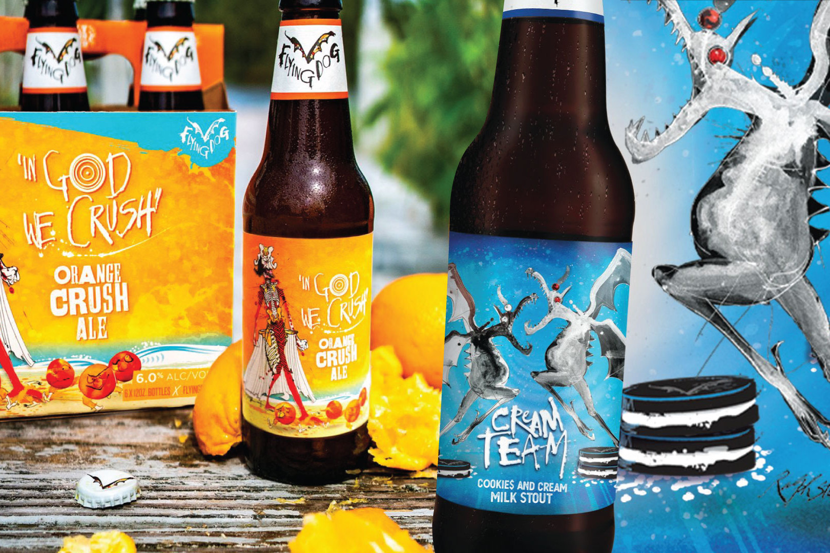 THE LATEST FROM FLYING DOG