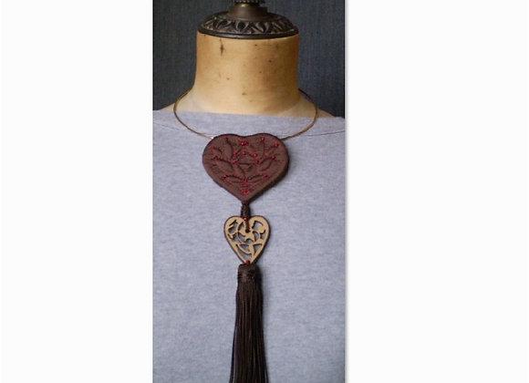 Kit collier COEUR DE MONTAGNE (8 x 23 cm)