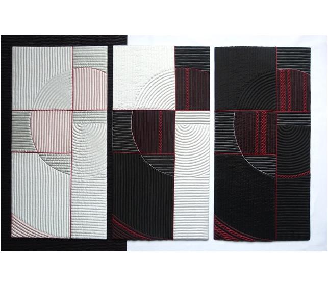 Triptyque ECHOS (48 x 80 cm)