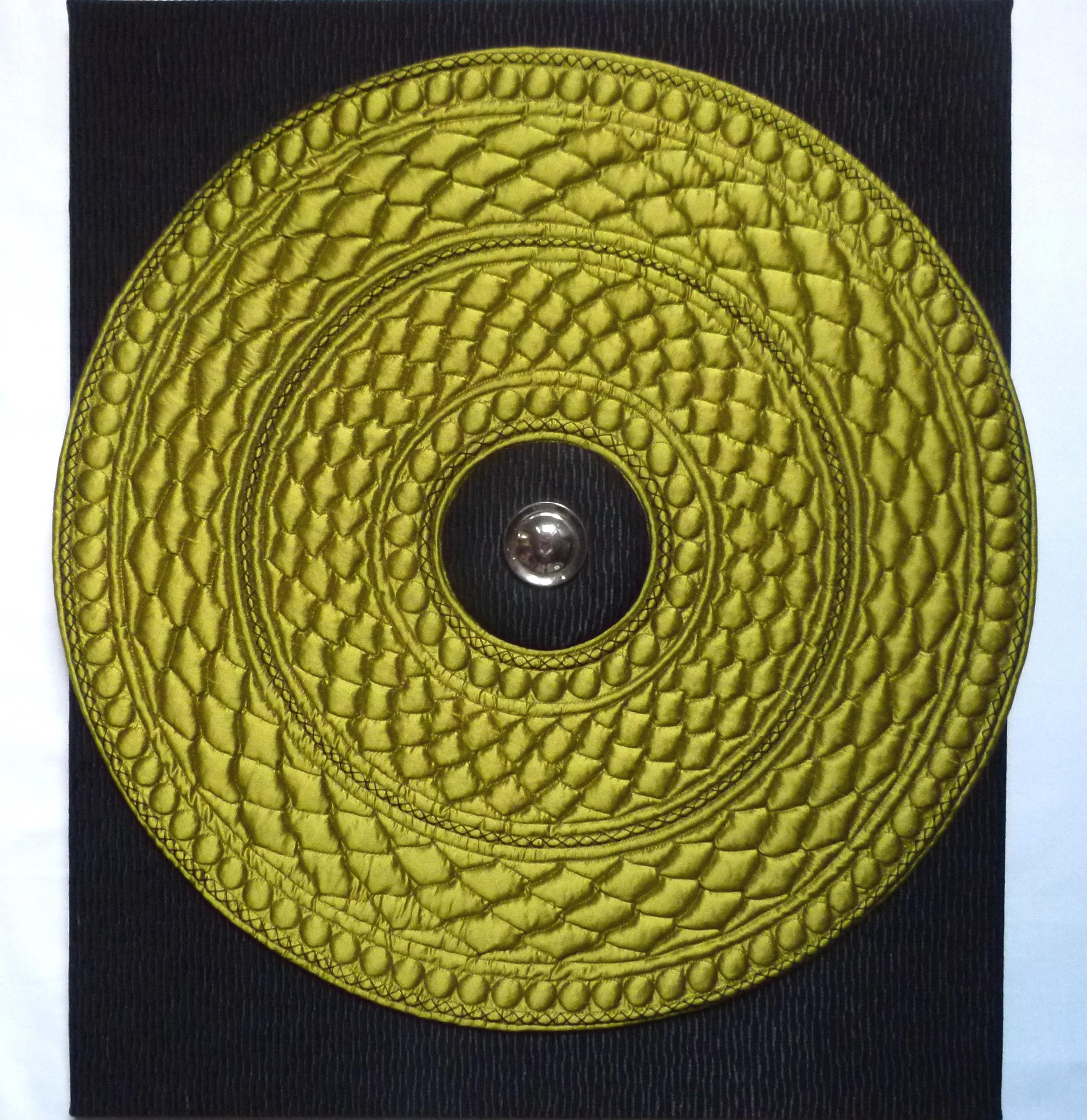 Tableau textile SNAKE (47 x 60 cm)