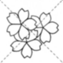 Dessin gratuit 3 fleurs pour boutis provençal