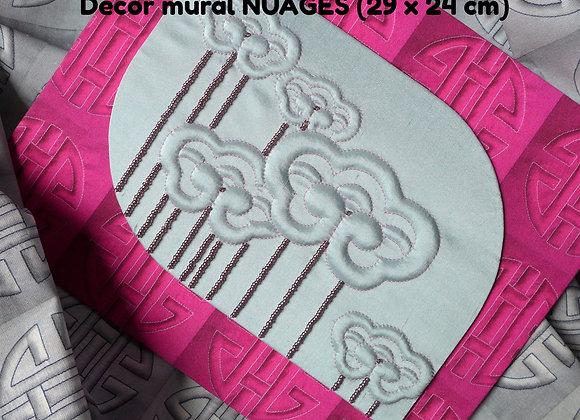 Fiche créative décor mural NUAGES (option KIT)
