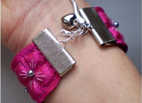 "Fiche Créative bracelet ""HORTENSIA"""