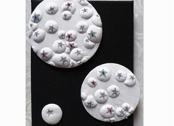1/2 Kit décor mural BULLER (sur coton imprimé)