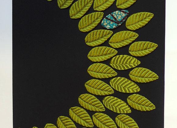 DUO SOIE sauvage  + BATISTE vert olives. A partir de: