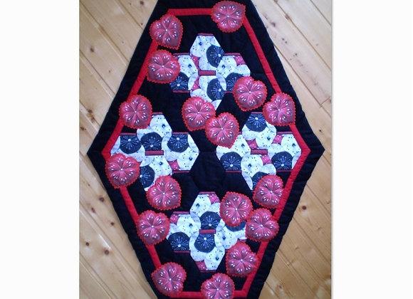 "1/2 Kit patchwork ""JARDIN DE GRAND-MÈRE"""
