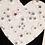 Thumbnail: Tissu de coton imprimé ÉTOILES GRISES ou ÉTOILES OR. Coupons à partir de :