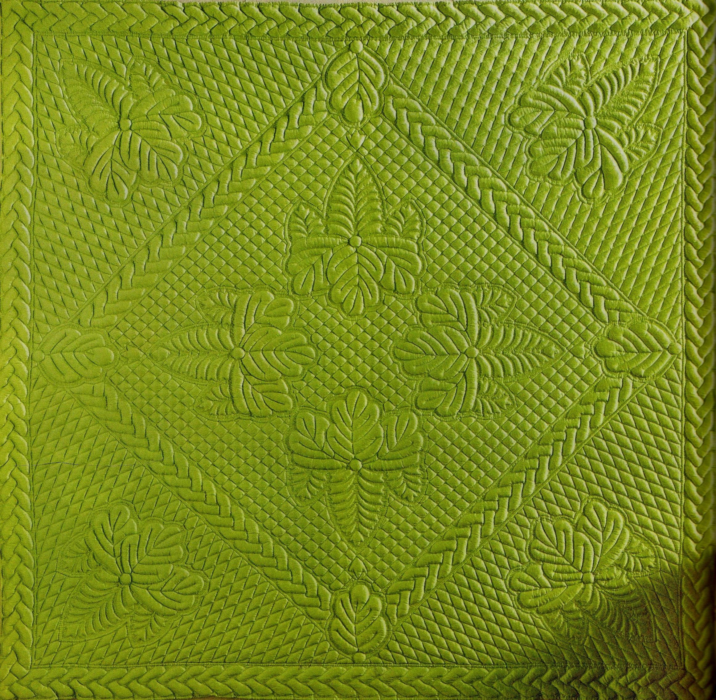 Plaid en boutis de soie