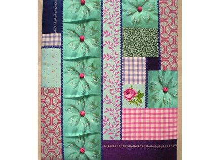 "1/2 Kit tableau textile ""SHABBY CHIC"""