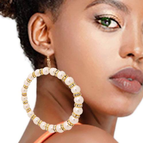 Jewely Pearled Drop Earrings