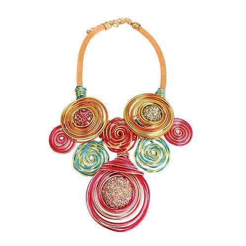 Spring Swirl Necklace St