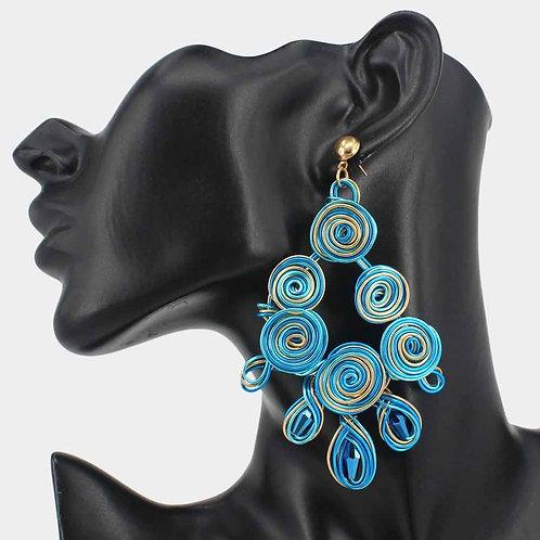 Hypnotized Statement Earrings