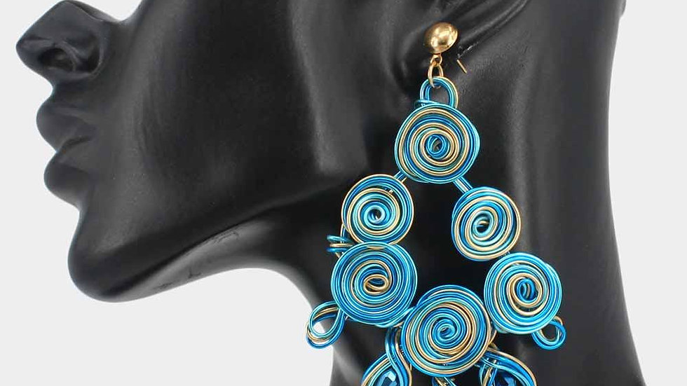 Hypnotized Statement Earrings