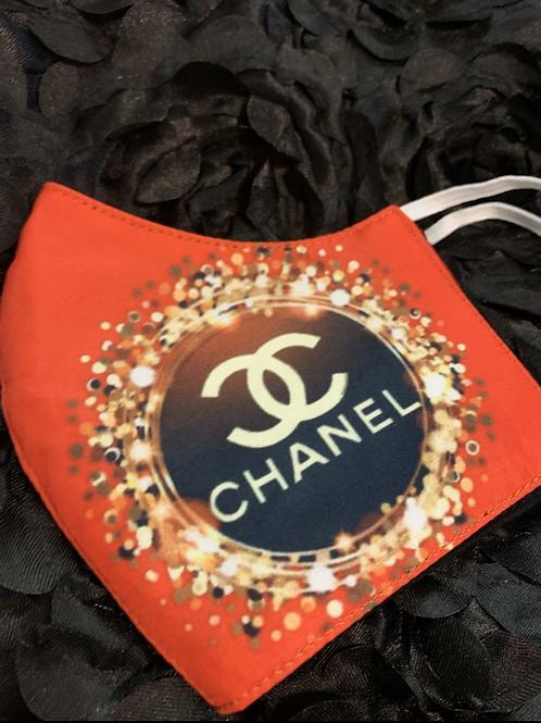 Confetti Chanel Inspired Mask