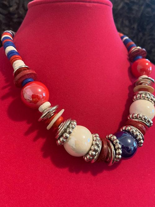 The Patriot Necklace Set