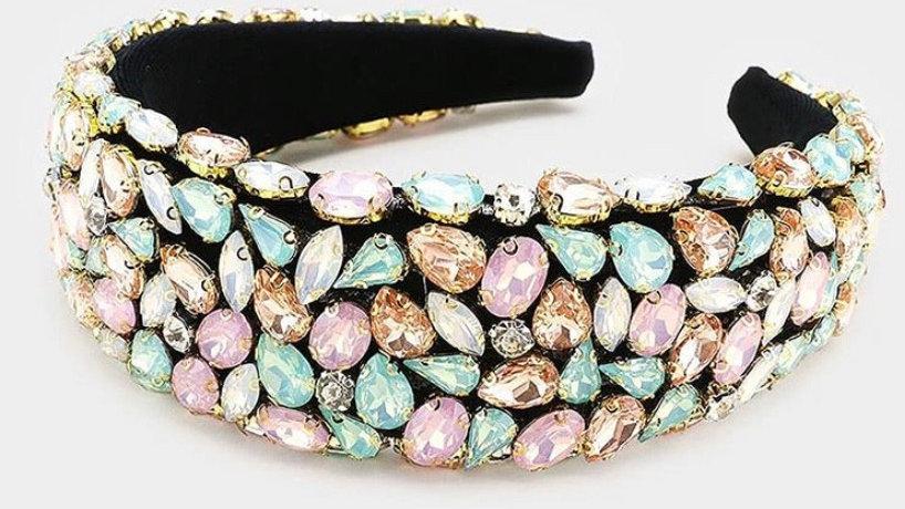 Pastel Jeweled Headband