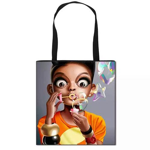 I Love Bubbles Tote Bag