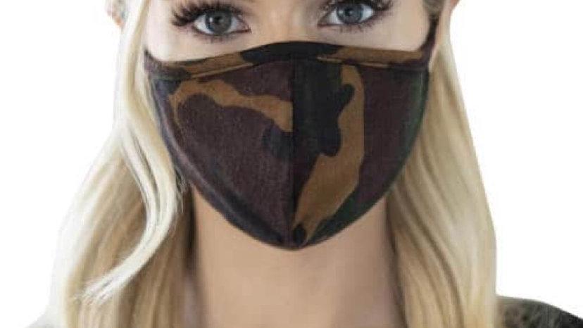 Cloth Camo Fashion Mask