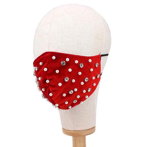 Velvety Pearl Masks