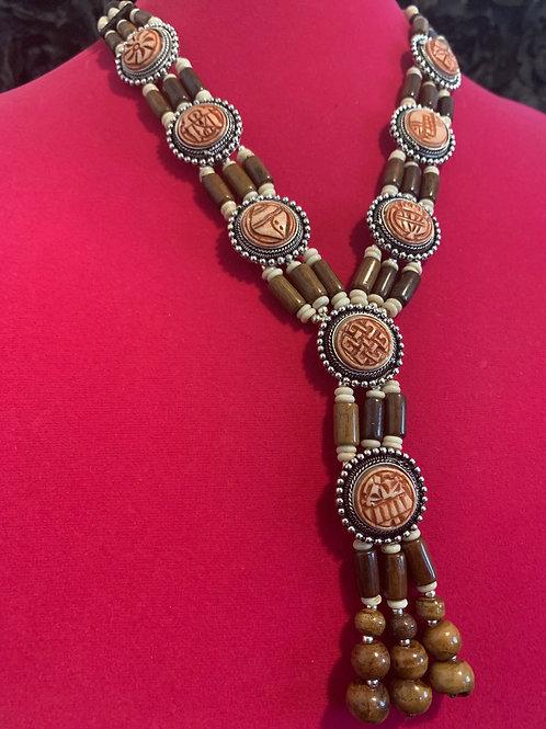 Tribal Drop Necklace