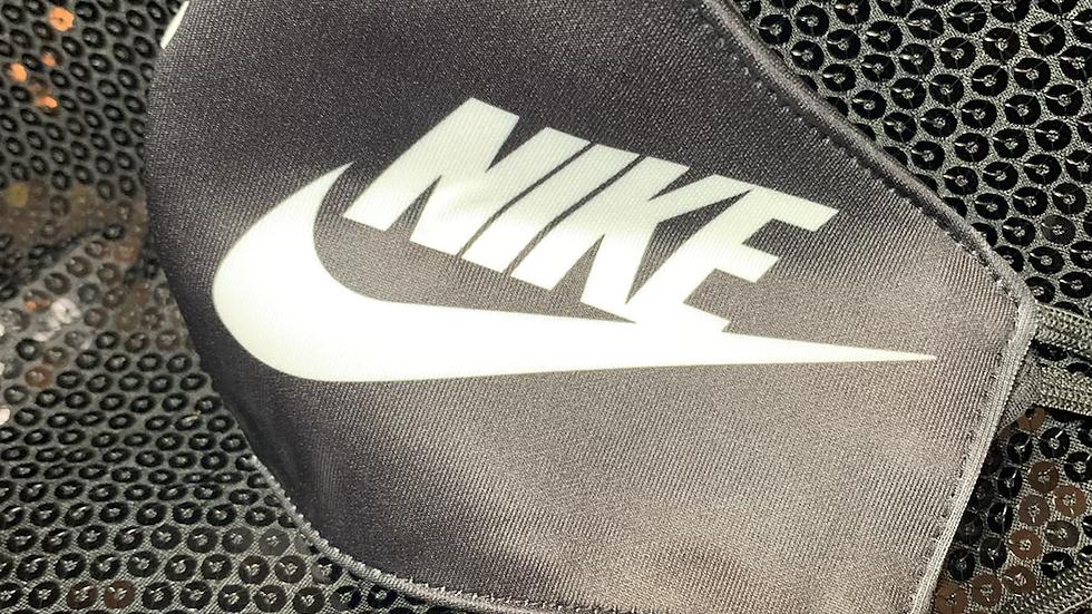 Black & White Nike Inspired Mask