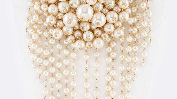 Pearl Layer Necklace Set