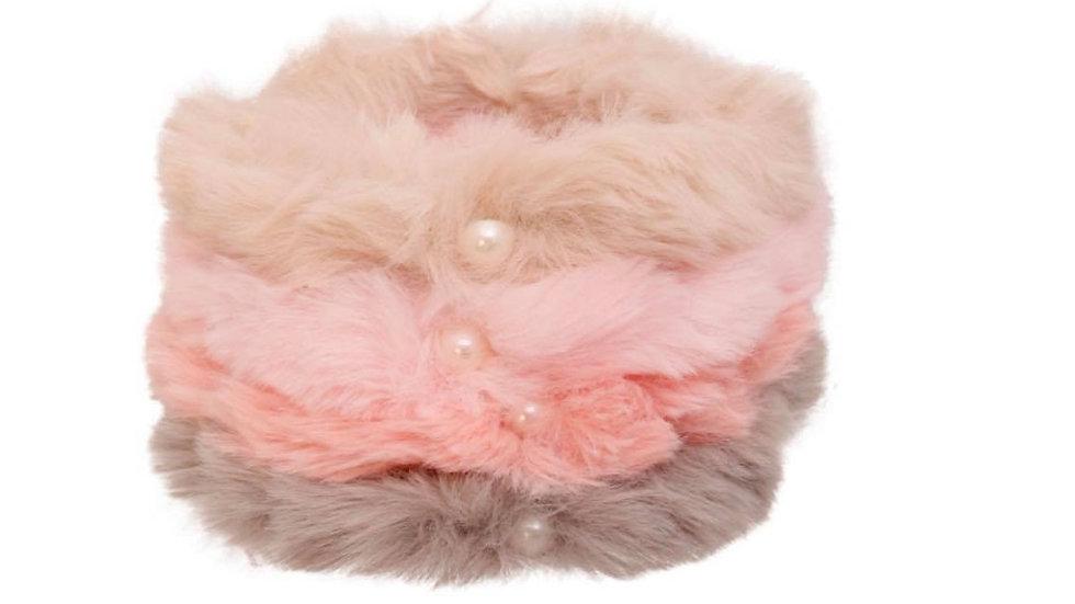 Faux Fur Kids Headband