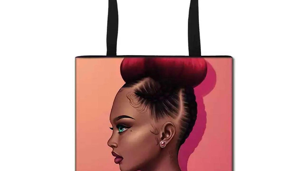 Top Bun Tote Bag