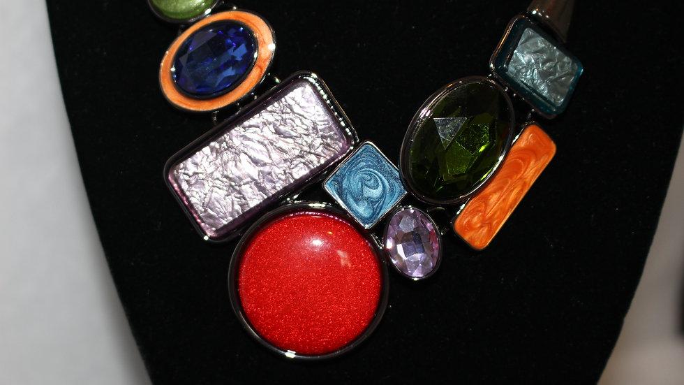Mosaic Necklace Set