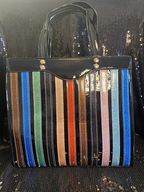 Multi Stripes Handbag