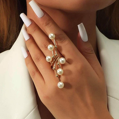 Pearl Branch Ring