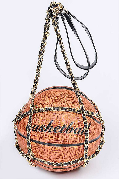 Basketball Purse with Chain