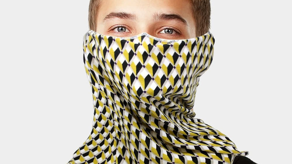 Abstract Scarf/Mask