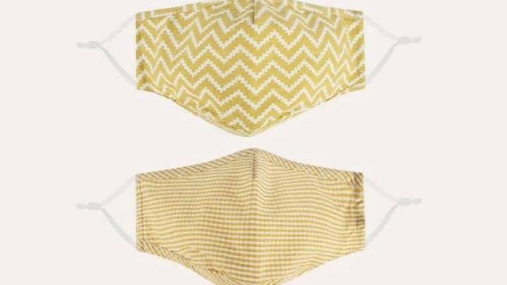Yellow Fashion Masks